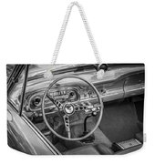 1963 Ford Falcon Sprint Convertible Bw  Weekender Tote Bag