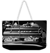 1965 Lotus Elan S2 Engine Weekender Tote Bag