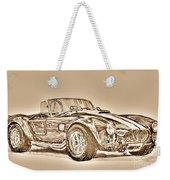 1965 Shelby Ac Cobra Weekender Tote Bag