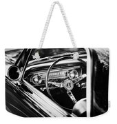 1965 Shelby Prototype Ford Mustang Steering Wheel Emblem Weekender Tote Bag