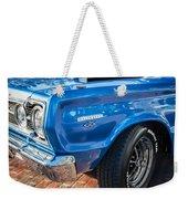 1967 Plymouth Belvedere Gtx 440 Painted  Weekender Tote Bag
