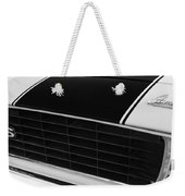 1969 Chevrolet Camaro Rs-ss Indy Pace Car Replica Grille - Hood Emblems Weekender Tote Bag by Jill Reger