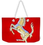 1999 Ferrari 550 Maranello Stallion Emblem Weekender Tote Bag