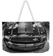 2008 Ford Shelby Mustang Gt500 Kr Painted Bw  Weekender Tote Bag