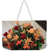 A Gallery's Flowers Weekender Tote Bag