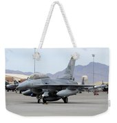 A U.s. Air Force F-16c Fighting Falcon Weekender Tote Bag