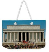 Abraham Lincoln Memorial In Washington Dc Usa Weekender Tote Bag