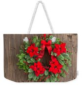 Advent Wreath With Winter Rose Weekender Tote Bag