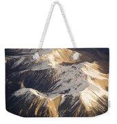 Aerial Mountains Weekender Tote Bag