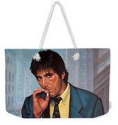 Al Pacino 2 Weekender Tote Bag by Paul Meijering