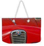 Alfa Romeo Grille Emblem Weekender Tote Bag