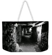 A Tunnel In The Catacombs Of Paris France Weekender Tote Bag