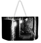 Altered Image Of The Catacomb Tunnels In Paris France Weekender Tote Bag