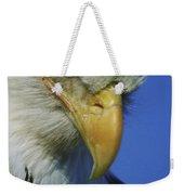 American Bald Eagle Haliaeetus Weekender Tote Bag