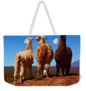 3 Amigos Weekender Tote Bag by FireFlux Studios