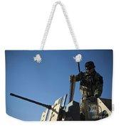 An Afghan National Army Soldier Weekender Tote Bag