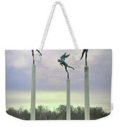 3 Angels Statue Philadelphia Weekender Tote Bag
