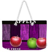 Apple Farm Weekender Tote Bag