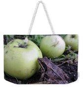 3 Apples And A Frog Weekender Tote Bag