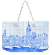 Arch Bridge Across A River, Westminster Weekender Tote Bag