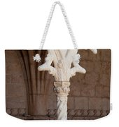 Architectural Details Of Jeronimos Monastery In Lisbon Weekender Tote Bag