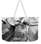 Art Arfons In Tight Squeeze Weekender Tote Bag