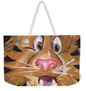 Tiger Art Weekender Tote Bag