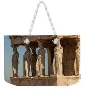Athens, Attica, Greece. Porch Weekender Tote Bag