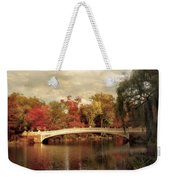 Autumn At Bow Bridge Weekender Tote Bag