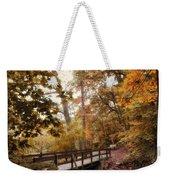 Autumn Awaits Weekender Tote Bag