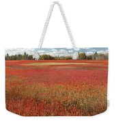 Autumn Blueberry Field Maine Weekender Tote Bag by Scott Leslie