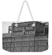 Baltimore Orioles Park At Camden Yards Weekender Tote Bag