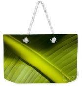 Banana Leaf Weekender Tote Bag