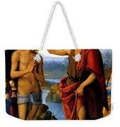 Baptism Weekender Tote Bag