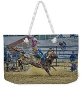 Bareback Bronc Riding Weekender Tote Bag