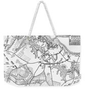 Battle Of Yorktown, 1781 Weekender Tote Bag