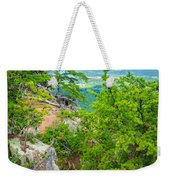 Beautiful Aerial Landscape Views From Crowders Mountain North Ca Weekender Tote Bag