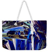 Benzoic Acid Crystals In Polarized Light Weekender Tote Bag
