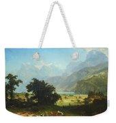 Bierstadt's Lake Lucerne Weekender Tote Bag