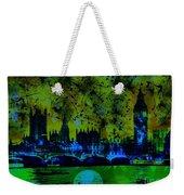 Big Ben On The River Thames Weekender Tote Bag