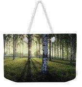 Birch Trees By The Vuoksi River Weekender Tote Bag