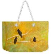 3 Birds Weekender Tote Bag