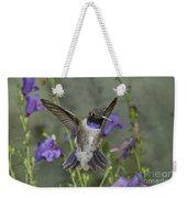 Black-chinned Hummingbird Weekender Tote Bag