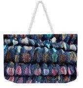 Blue Cloth Weekender Tote Bag