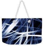 Blue Lines  Weekender Tote Bag by Les Cunliffe