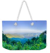 Blue Ridge Parkway National Park Sunset Scenic Mountains Summer  Weekender Tote Bag