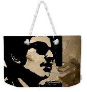 Bob Dylan Recording Session Weekender Tote Bag