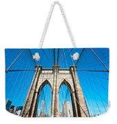 Brooklyn Bridge -  New York City Weekender Tote Bag