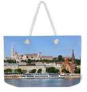 Budapest Cityscape Weekender Tote Bag