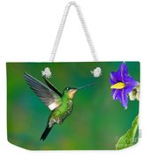 Buff-winged Starfrontlet Weekender Tote Bag